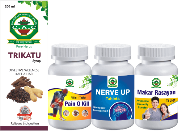 PRODUCTS BY CAC FOR SCIATICA